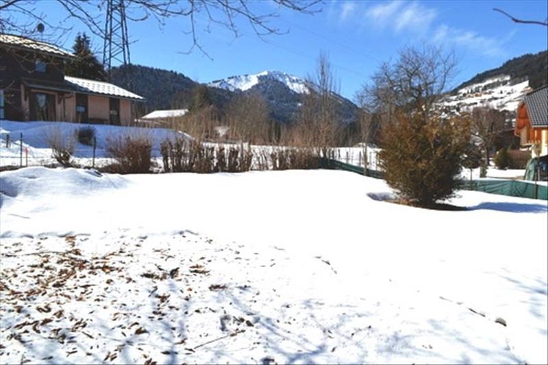 Vendita terreno Morzine 275000€ - Fotografia 1