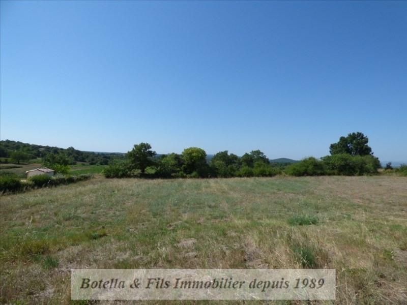 Venta  terreno Barjac 89400€ - Fotografía 1
