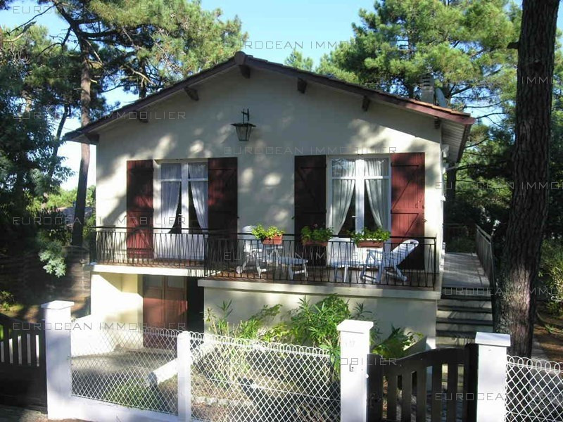 Location vacances maison / villa Lacanau-ocean 451€ - Photo 1