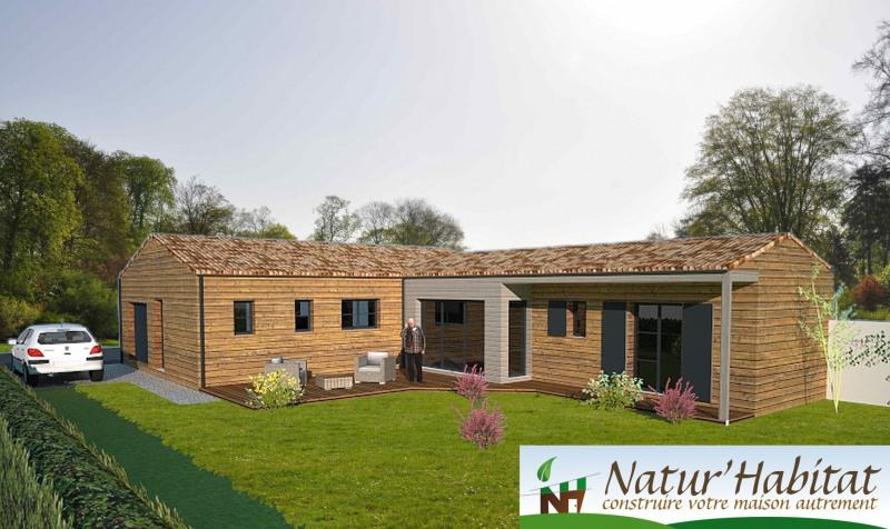 """Modèle de maison  """"Maison Ossature Bois"""" à partir de 5 pièces Charente-Maritime par NATUR HABITAT"""