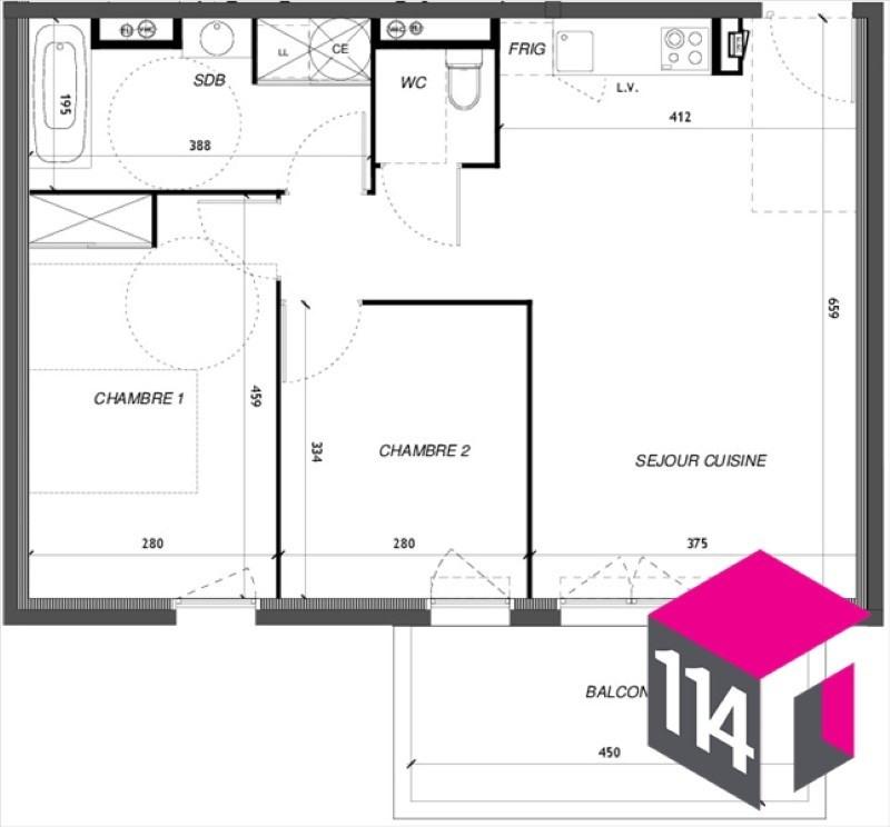Vente appartement Baillargues 227600€ - Photo 4