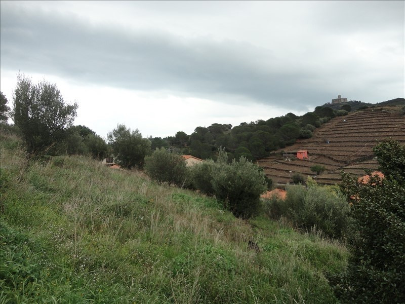 Vente terrain Collioure 255 000€ - Photo 1