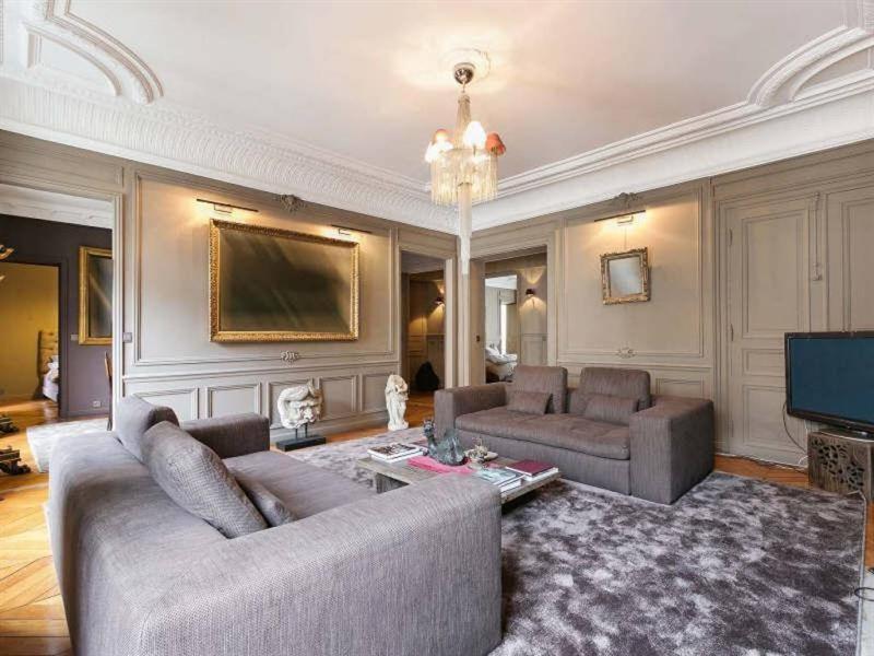 Venta de prestigio  apartamento Paris 8ème 3200000€ - Fotografía 2