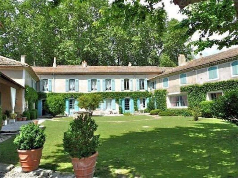 Deluxe sale house / villa Goudargues 995 000€ - Picture 1
