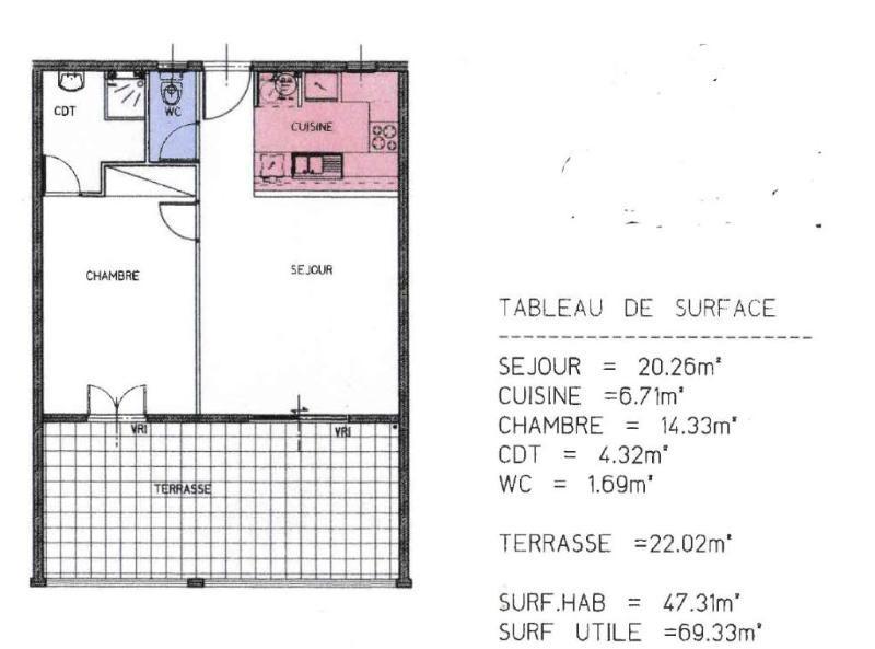 Sale apartment Le marin 167400€ - Picture 2