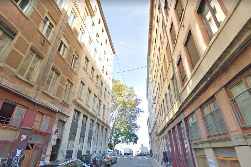 Rental apartment Lyon 1er 457€ CC - Picture 1
