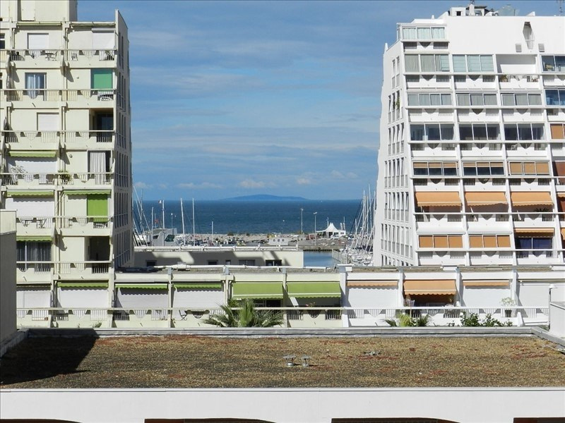 Location appartement La grande motte 530€ CC - Photo 1