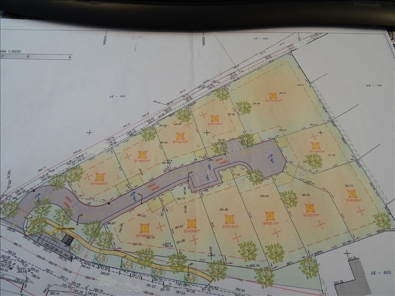 Vente terrain St jean de bournay 94 380€ - Photo 2
