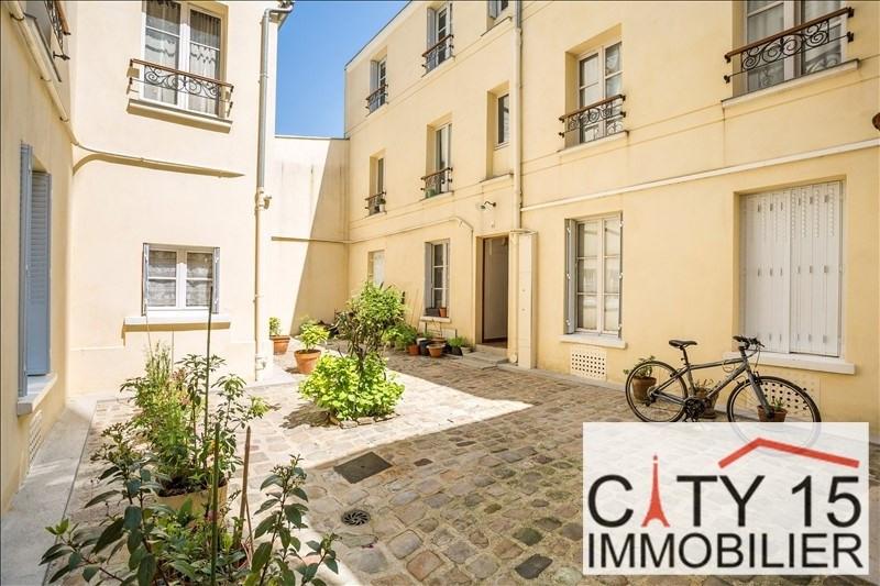 Verkoop  appartement Paris 15ème 257000€ - Foto 2