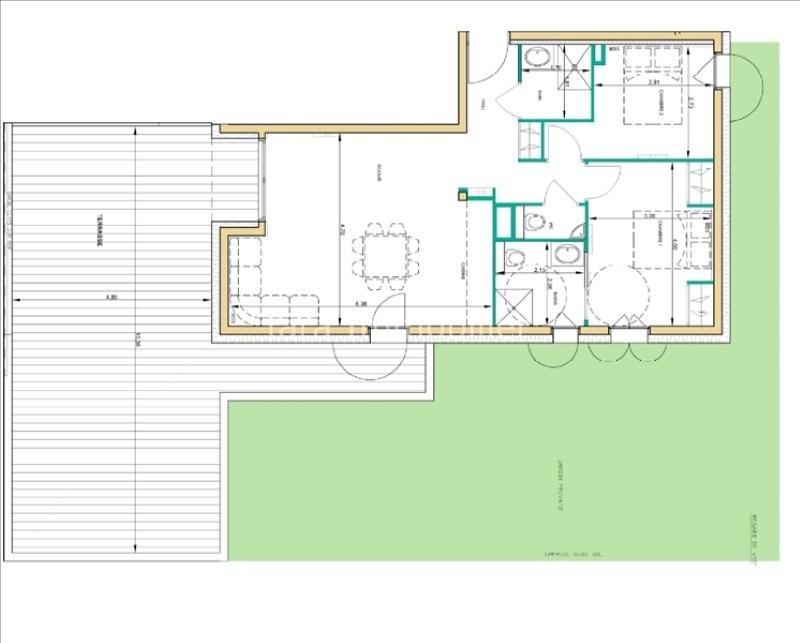 Immobile residenziali di prestigio appartamento Chamonix mont blanc 600000€ - Fotografia 2