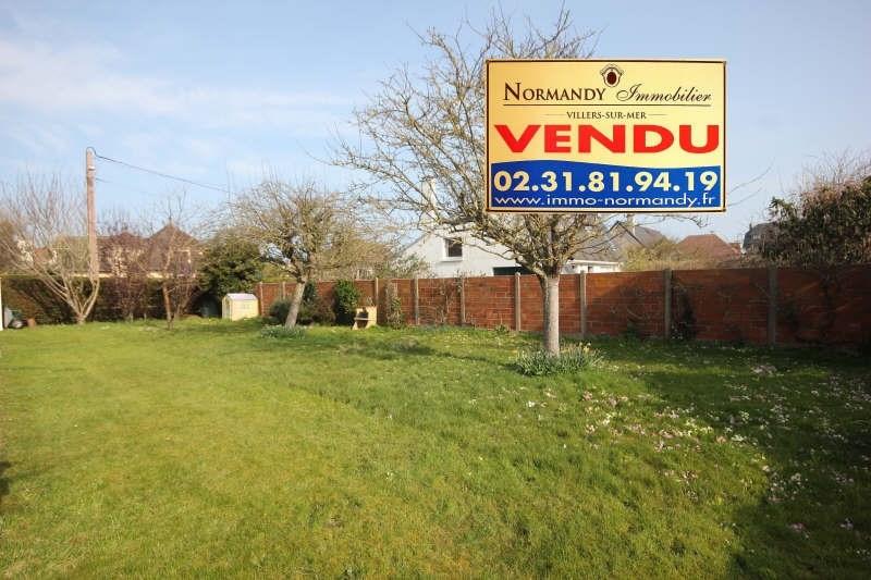 Sale site Villers sur mer 113000€ - Picture 1