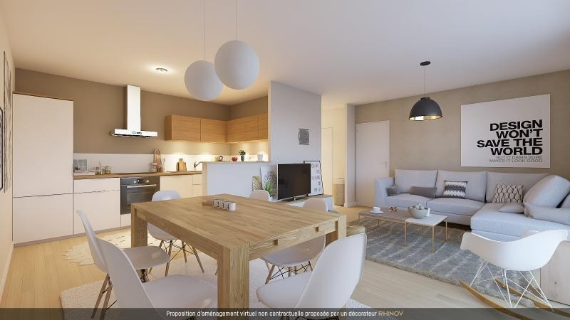 Sale apartment L hermitage 119500€ - Picture 1