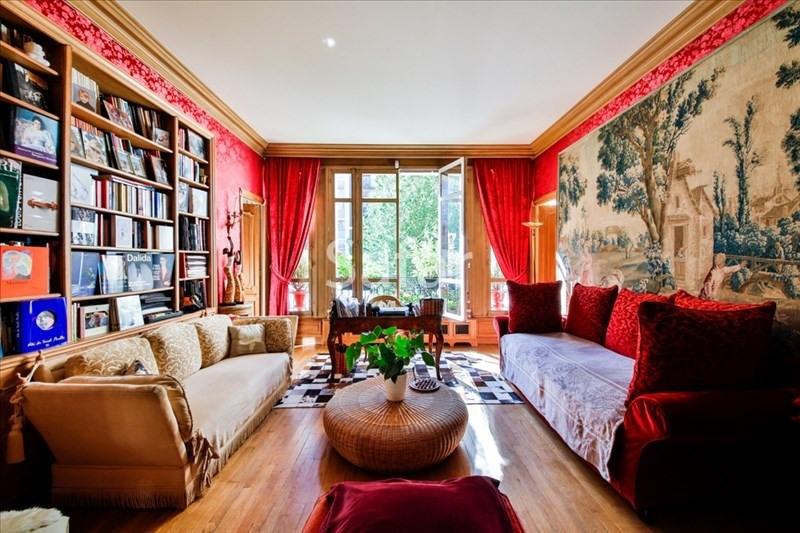 Deluxe sale apartment Paris 16ème 2250000€ - Picture 1