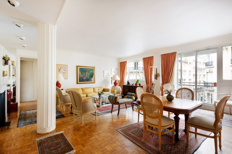 Verkoop van prestige  appartement Paris 17ème 1432000€ - Foto 1