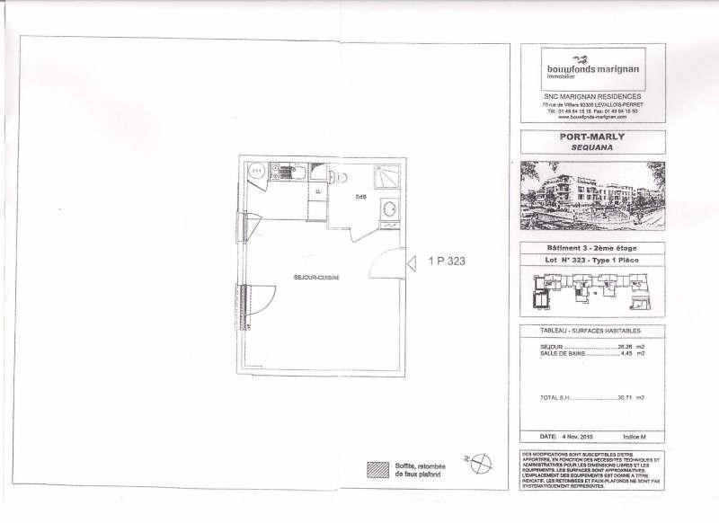 Location appartement St germain en laye 690€ CC - Photo 2