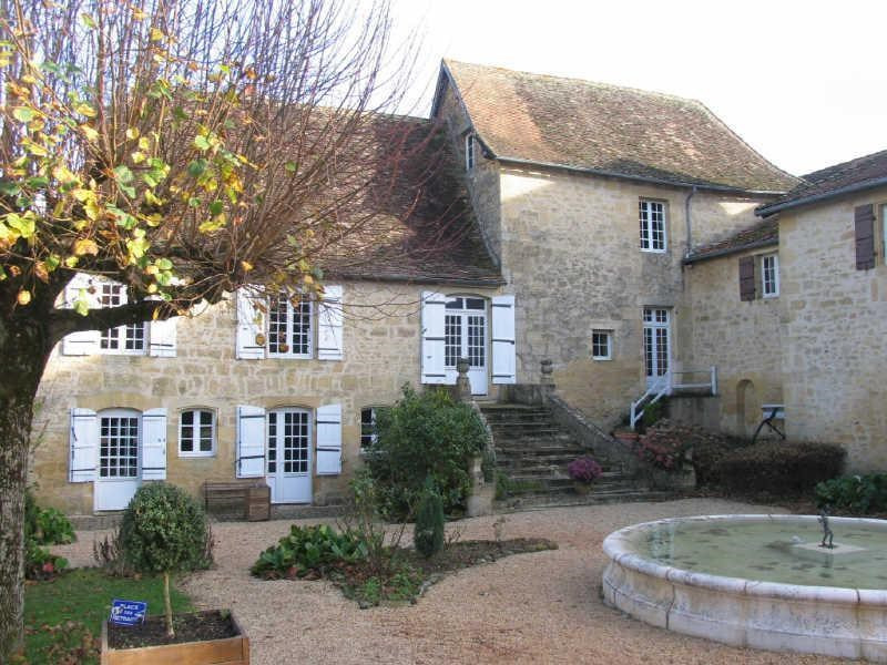 Sale house / villa Excideuil 588000€ - Picture 1