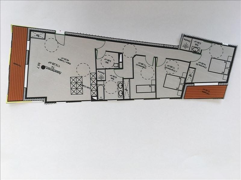 Vente de prestige appartement Charbonnieres les bains 611712€ - Photo 2