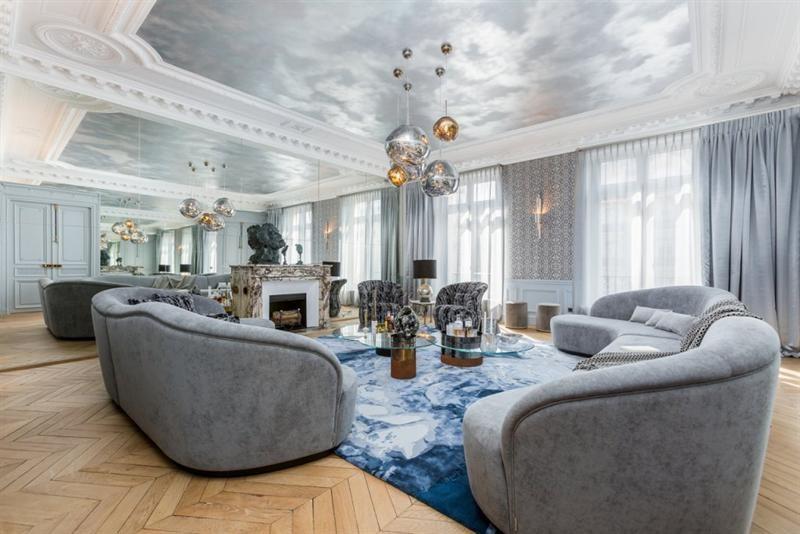 Verkoop van prestige  appartement Paris 8ème 7700000€ - Foto 2
