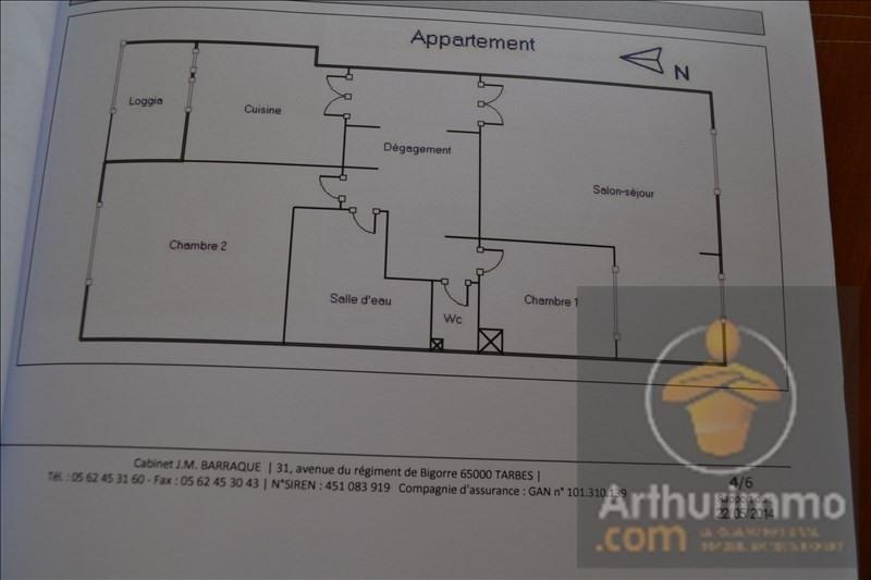 Vente appartement Tarbes 105000€ - Photo 11