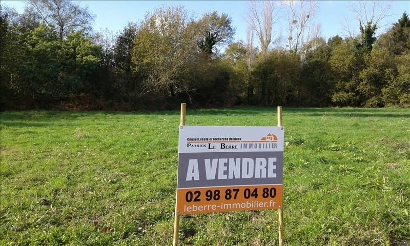 Revenda terreno Benodet 133500€ - Fotografia 1