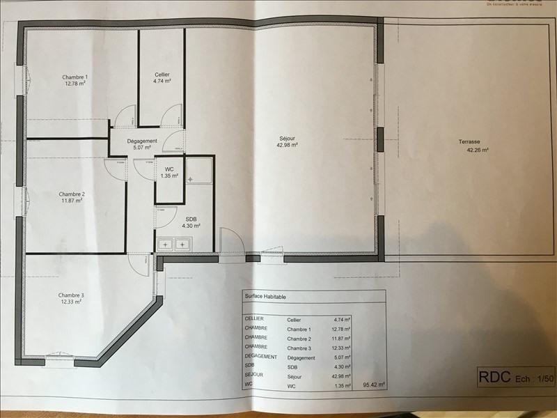 Vente maison / villa St jean de bournay 269000€ - Photo 2
