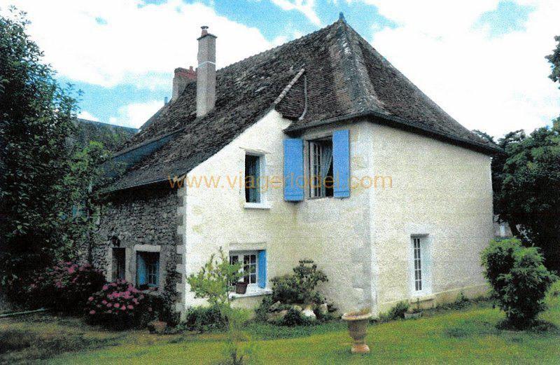 Vendita nell' vitalizio di vita casa Leigné-les-bois 65000€ - Fotografia 2