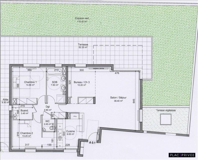 Venta  apartamento Nancy 340000€ - Fotografía 2