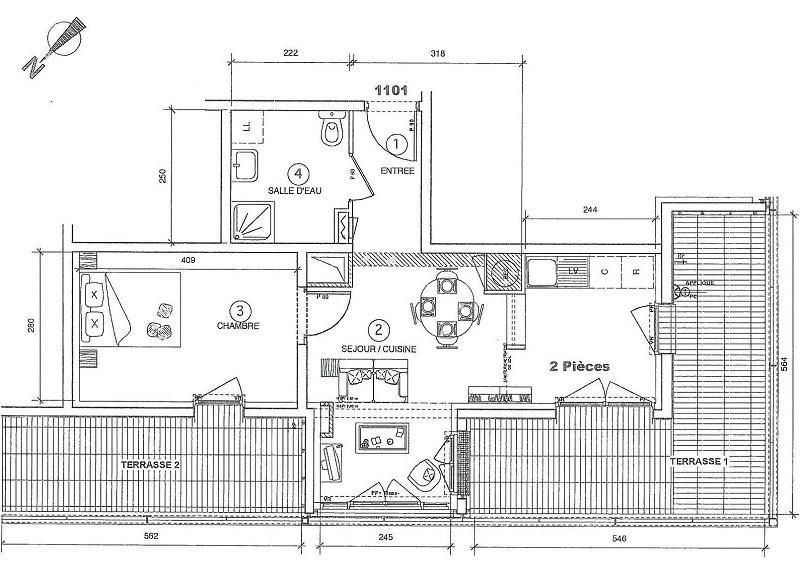 Location appartement Juvisy sur orge 746€ CC - Photo 1
