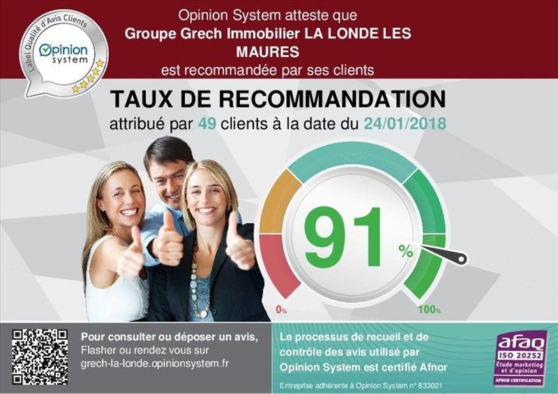Sale apartment La garde 69379€ - Picture 2