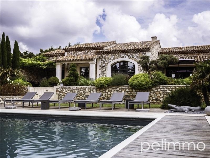Deluxe sale house / villa Aureille 1490000€ - Picture 2