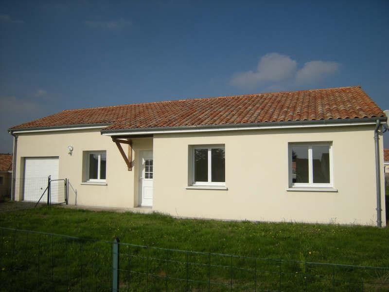 Location maison / villa Dange st romain 636€ CC - Photo 1