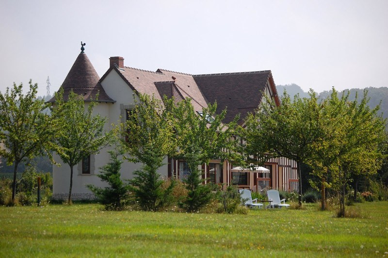 Deluxe sale house / villa Canapville 795000€ - Picture 1