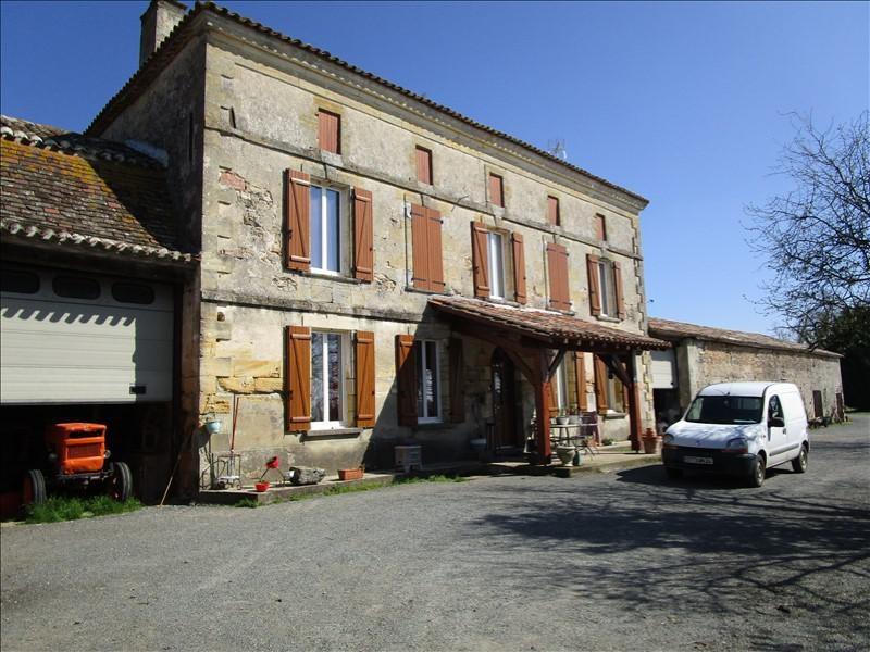 Vente maison / villa St martin de gurcon 336000€ - Photo 1