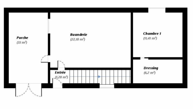 Vente maison / villa Orry la ville 414000€ - Photo 7