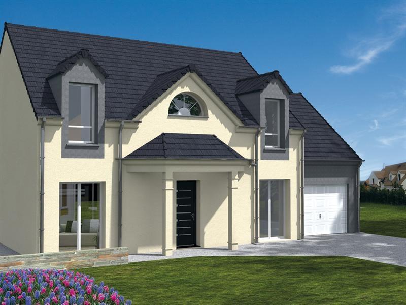 Maison  5 pièces + Terrain 368 m² Crespières (78121) par MAISONS LELIEVRE
