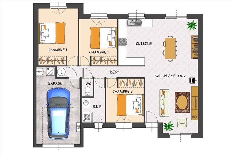 Sale house / villa Soumoulou 190500€ - Picture 3