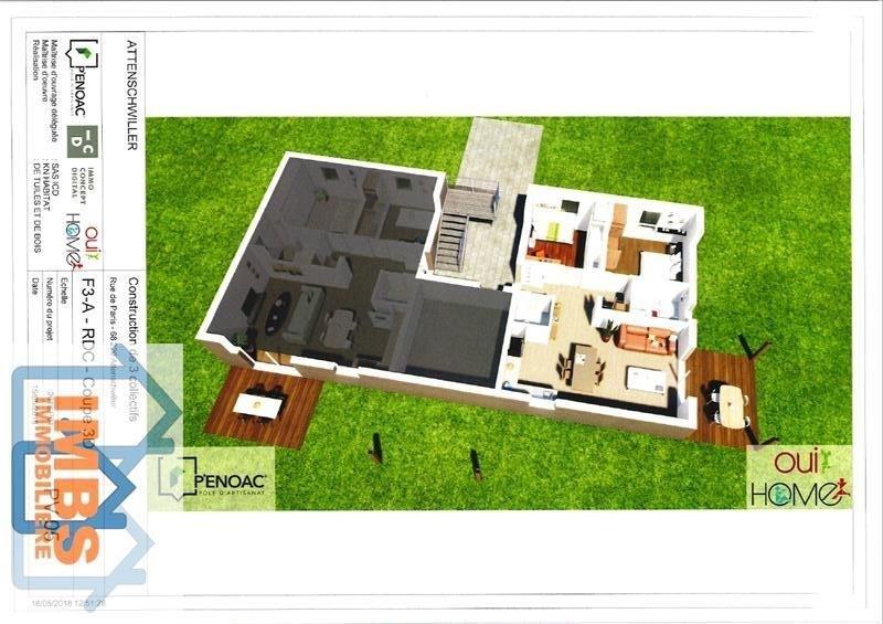 Vente appartement Attenschwiller 239560€ - Photo 2