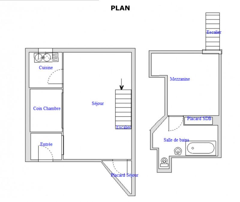 Rental apartment Paris 17ème 1552€ CC - Picture 7