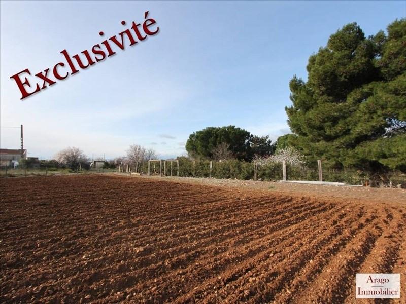 Vente terrain Salses le chateau 108000€ - Photo 1