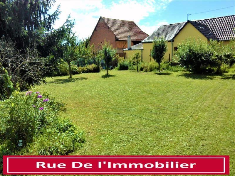 Sale site Herrlisheim 94000€ - Picture 1