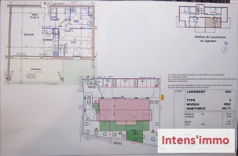 Sale apartment Pizancon 136000€ - Picture 3