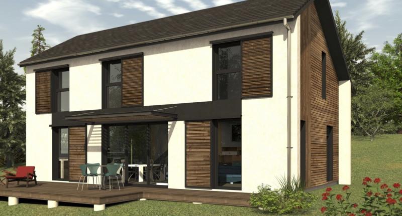 """Modèle de maison  """"Maison ossature bois 107 m² à etage"""" Pyrénées-Atlantiques par ID BOIS HABITAT"""