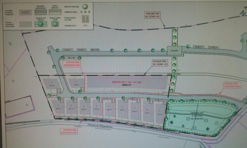 Terrain  de 423 m² Piolenc par MAISON DIRECT ST PAUL TROIS CHATEAUX