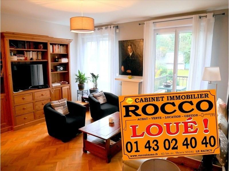 Location appartement Le raincy 1350€ CC - Photo 1