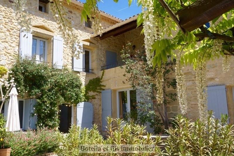 Deluxe sale house / villa Uzes 945000€ - Picture 2