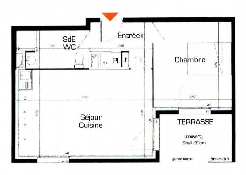 Location appartement Caluire et cuire 645€ CC - Photo 1