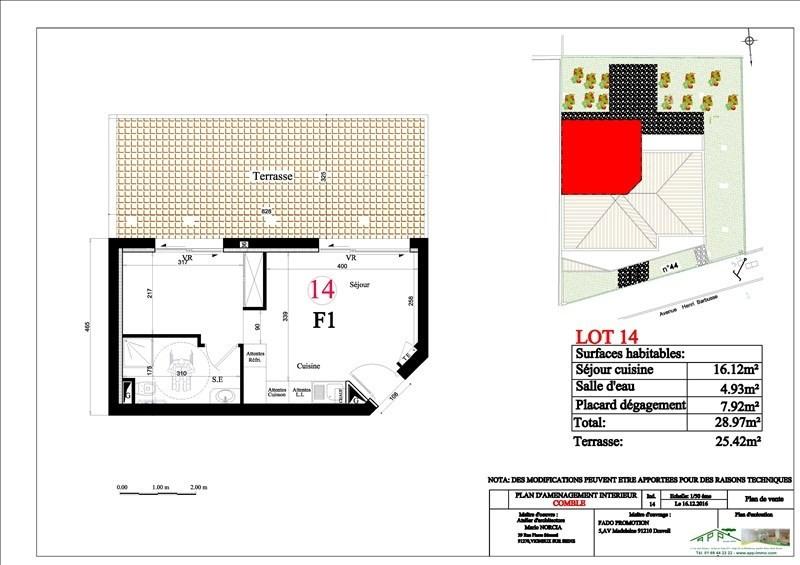 Produit d'investissement appartement Vigneux sur seine 130000€ - Photo 2