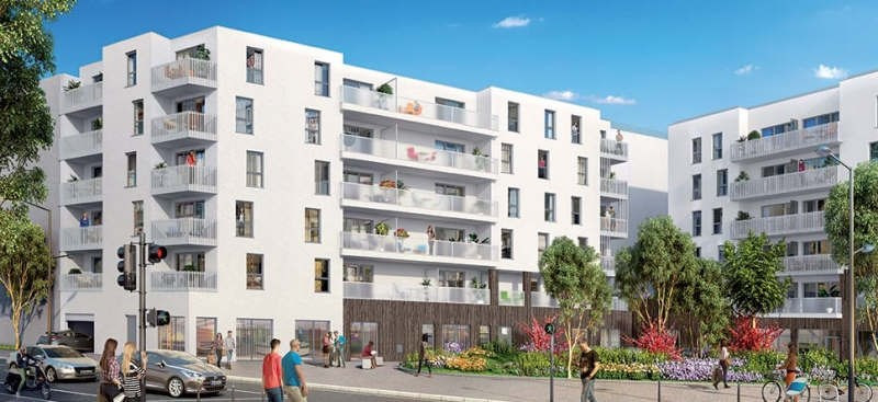 Rental apartment Venissieux 758€ CC - Picture 1