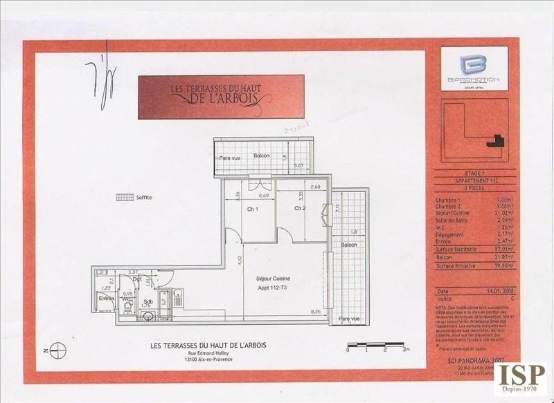 Rental apartment Les milles 900€ CC - Picture 17