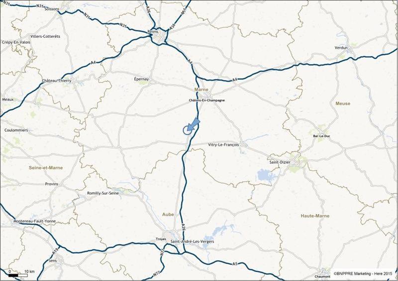 Location Local d'activités / Entrepôt Bussy-Lettrée 0